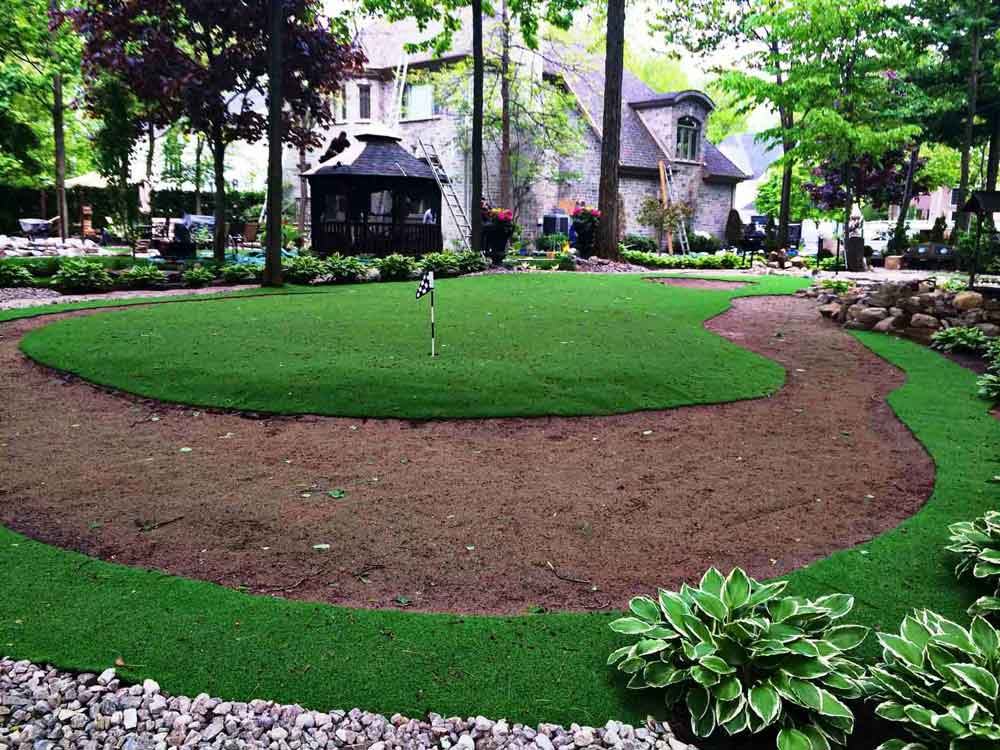 finally any putting green installation is maintenance to continue the