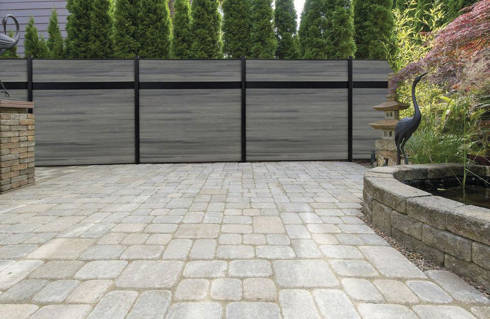 New composite fencing ezfence for your terrace and for Terrace fence