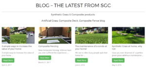 SGC Synthetic Grass & Composite