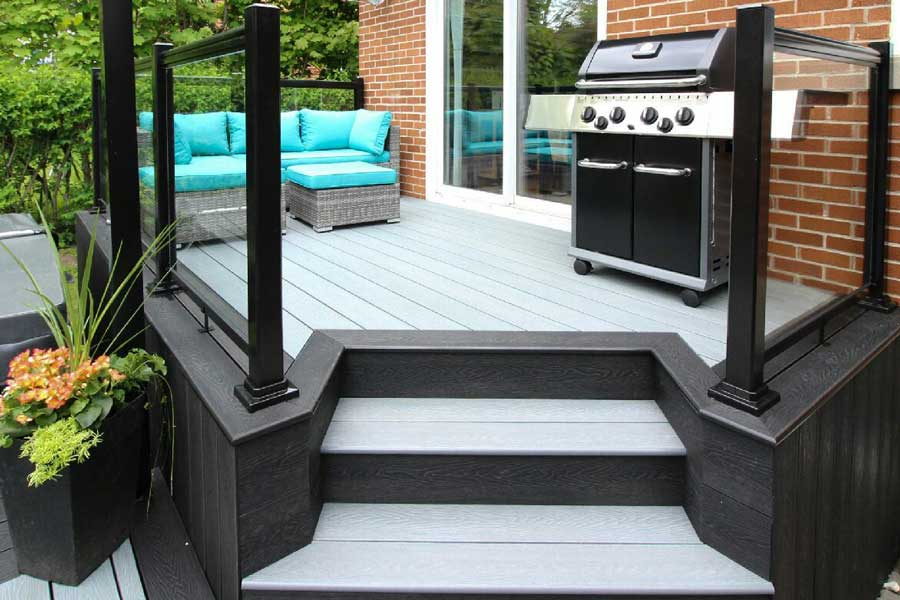 composite+decking+ezdeck+natural+toronto