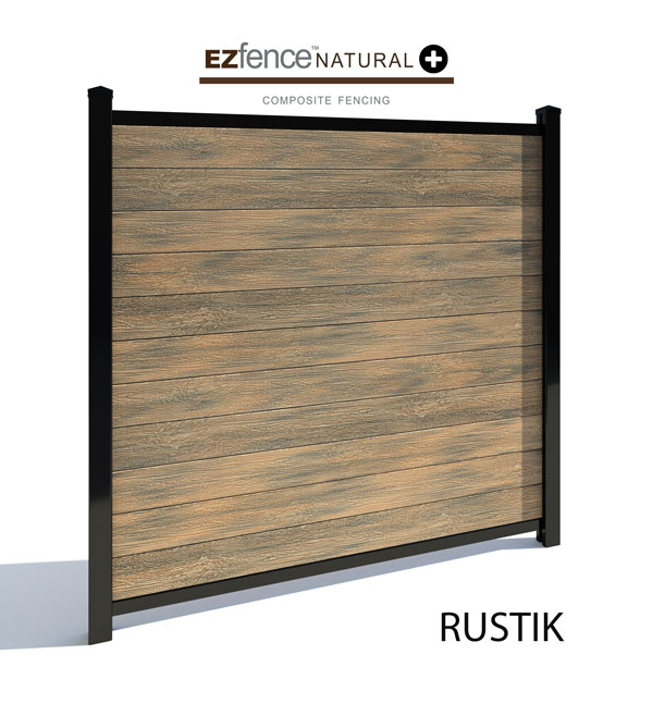 cloture+composite+natural+ezfence+rustik