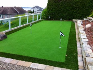 putting greens artificial turf