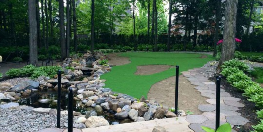 artificial grass putting green toronto