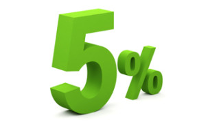 5%+referal
