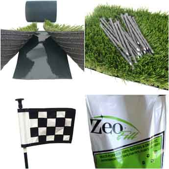 Artificial Turf Composite Fencing And Composite Decking Sgc