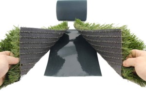 how to install synthetic grass