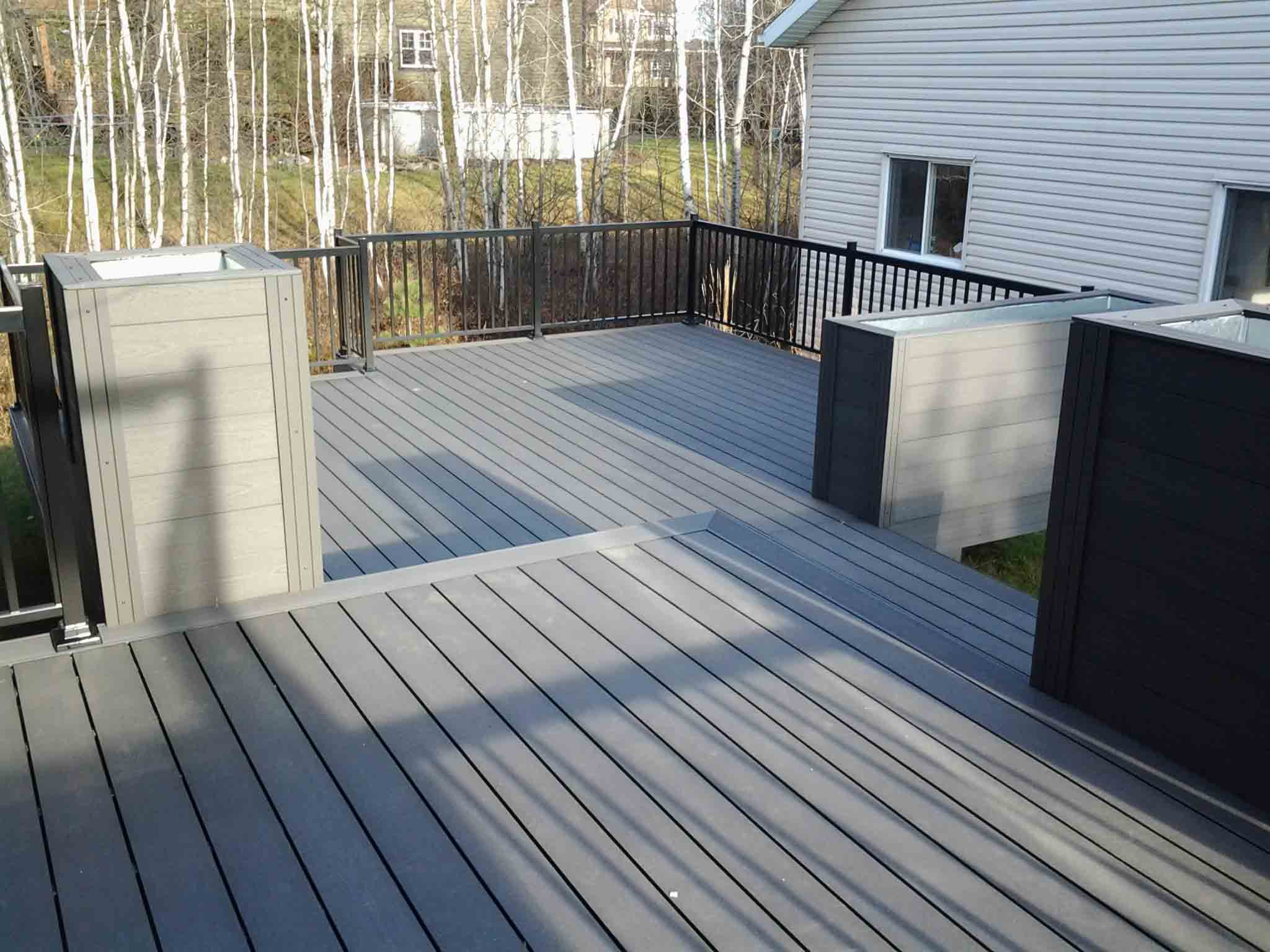 Ezdeck wpc decking sgc for Wpc decking