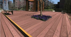 ezdeck+natural+composite+decking+project