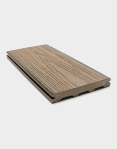 Brown composite board ezdeck-elite-natural-dark-carolina-dakota-california-deck-baord-standard-regular