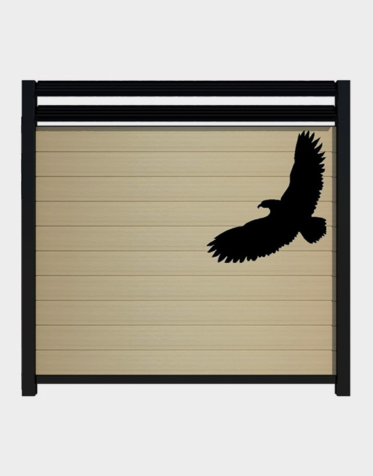 Eagle-decal-Ezfence-fence
