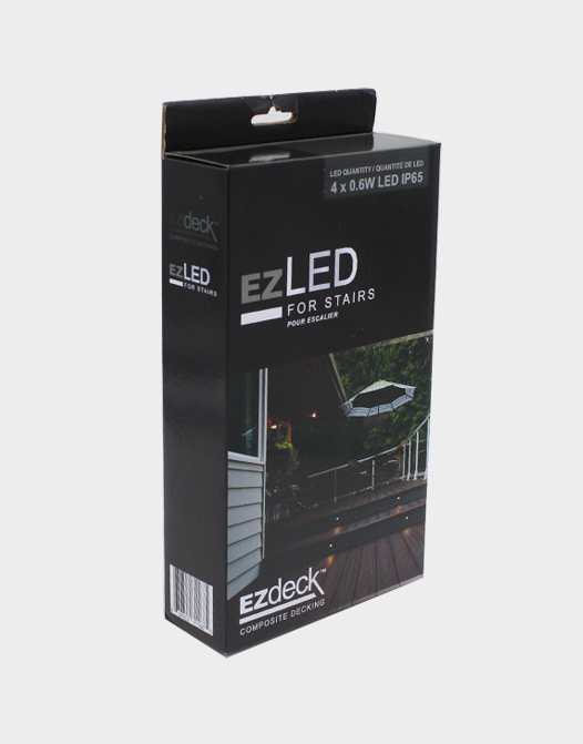 LED LIGHTING SYSTEM box-ezled-composite-stairs-lighting-deck-accessories