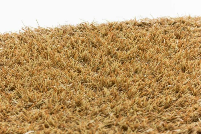 brown synthetic turf