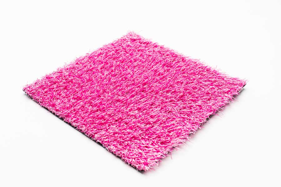 pink artificial gras