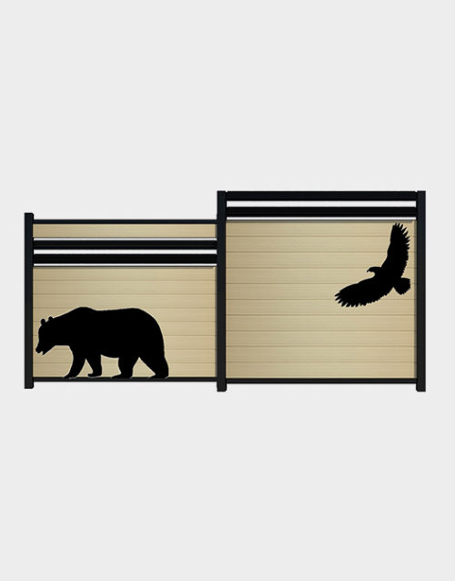 animals-kit-decals-fence-accessory-bear-eagle