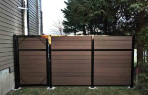 composite fence gate