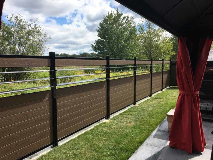 composite shutters fence