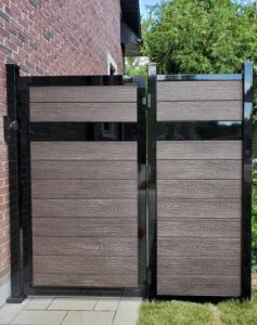 single-gate-for-privacy-fence-with-wood-post-or-aluminum-post-available-in-vancouver-toronto-and-saskatoon