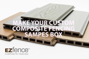 COMPOSITE+FENCING+SAMPLES+KIT+EZFENCE