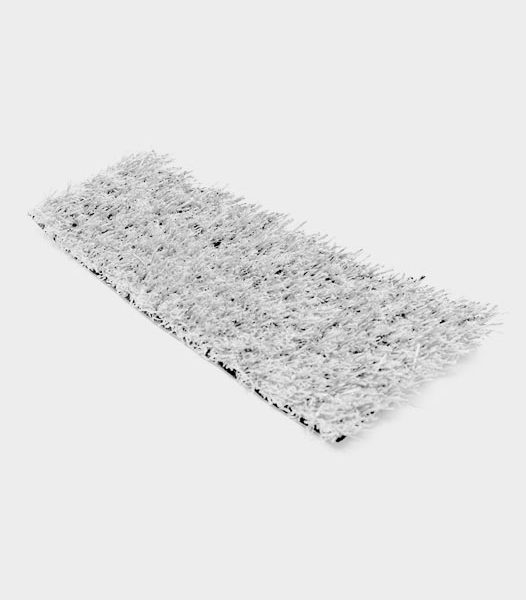 white artificial grass synthetic turf