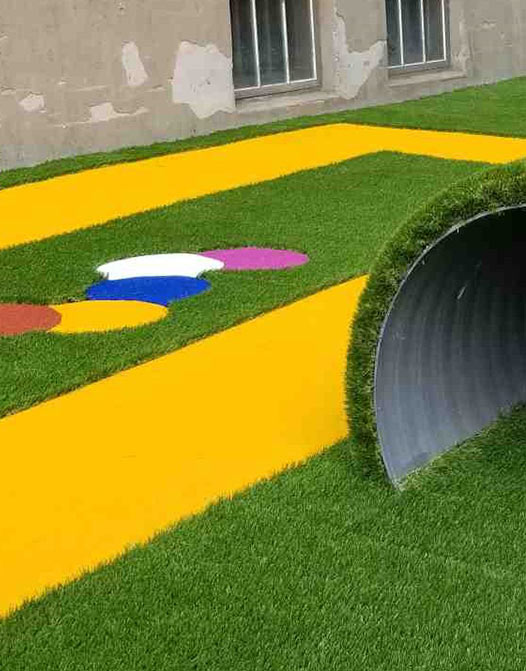 poly-yellow-grass-colored-color-turf-short-fiber-gym-event-office2