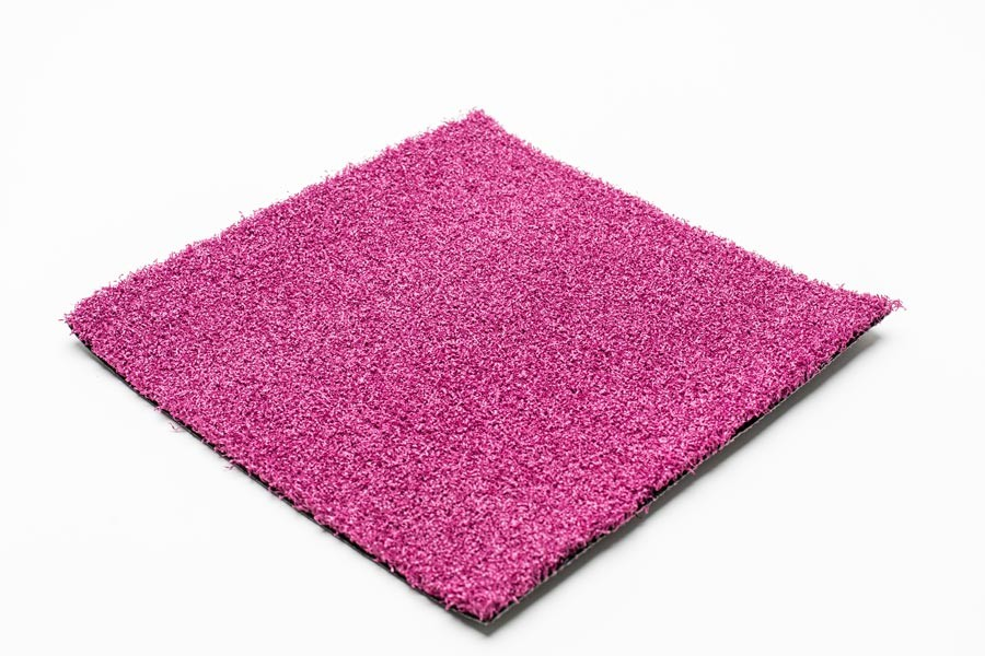 magenta artificial grass
