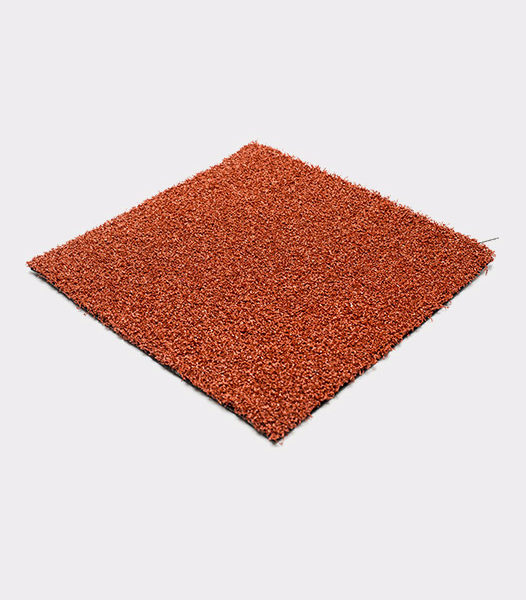 red artificial turf Red synthetic grass sample-polyred-grass-colored-color-turf-short-fiber-gym-event