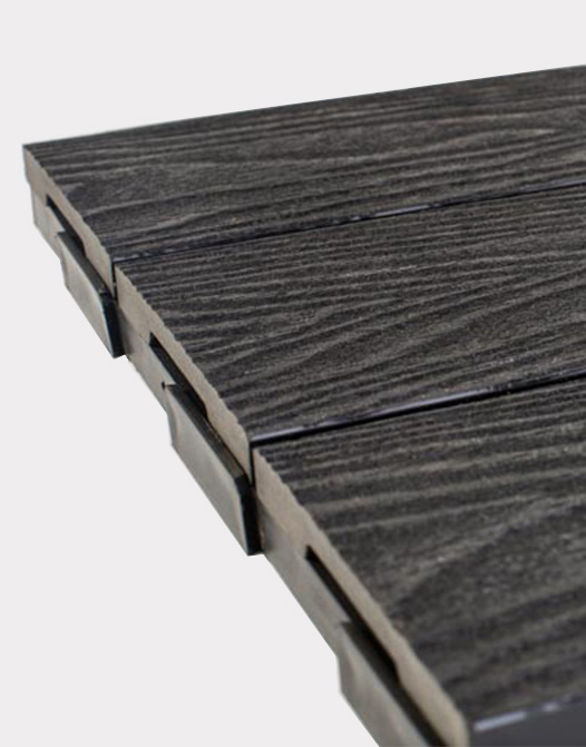 Ezclip-deck-tile-natural-black-terrasse-patio-outdoor-design-flooring-USA-Canada-backing-composite-plastic-Photo-decoration2