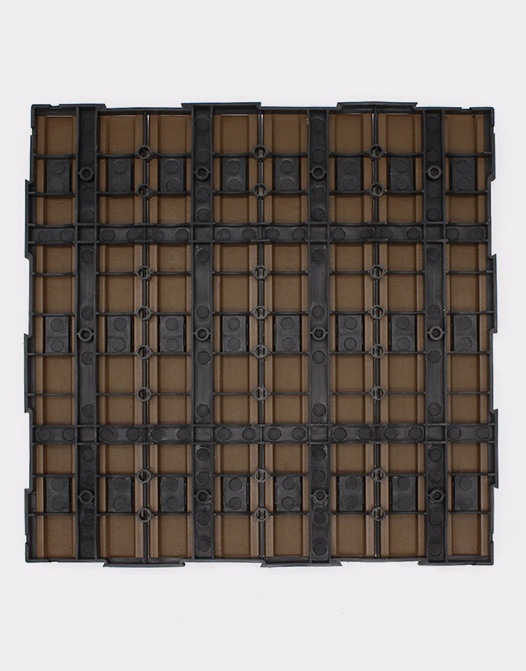 Cheap Composite deck tiles sand-composition-strong-plastic-tile-composite-design-interlocking-paving-backing