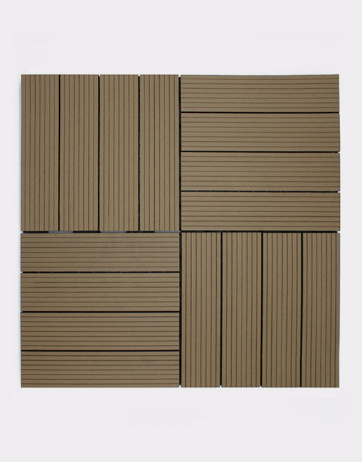 Cheap Composite deck tiles sand-composition-strong-plastic-tile-composite-design-interlocking
