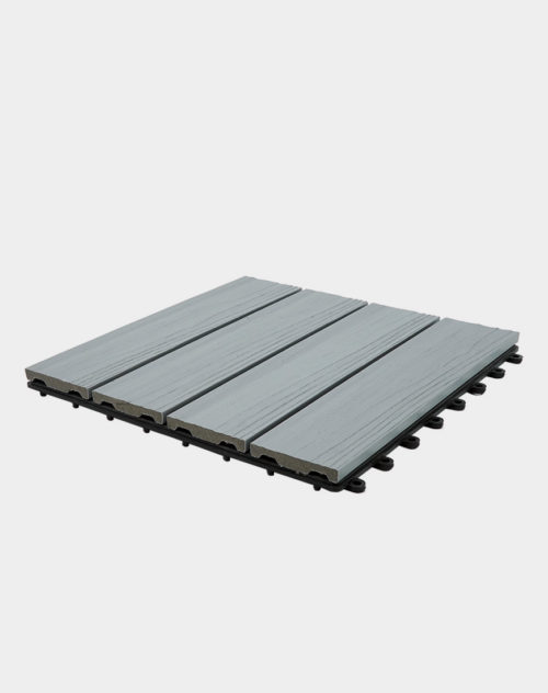 Light-grey-composite-balcony-tiles-square-shape-durable-and-long-lasting
