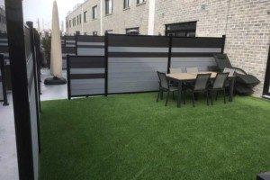 composite+fencing+commercial+project