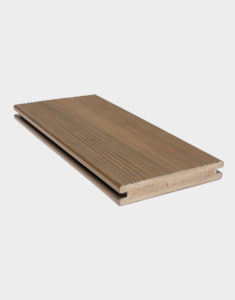 Brown PVC boards Premium-standard-board-composite-deck-outdoor-space-terrace-patio