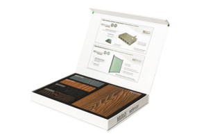 composite wood samples