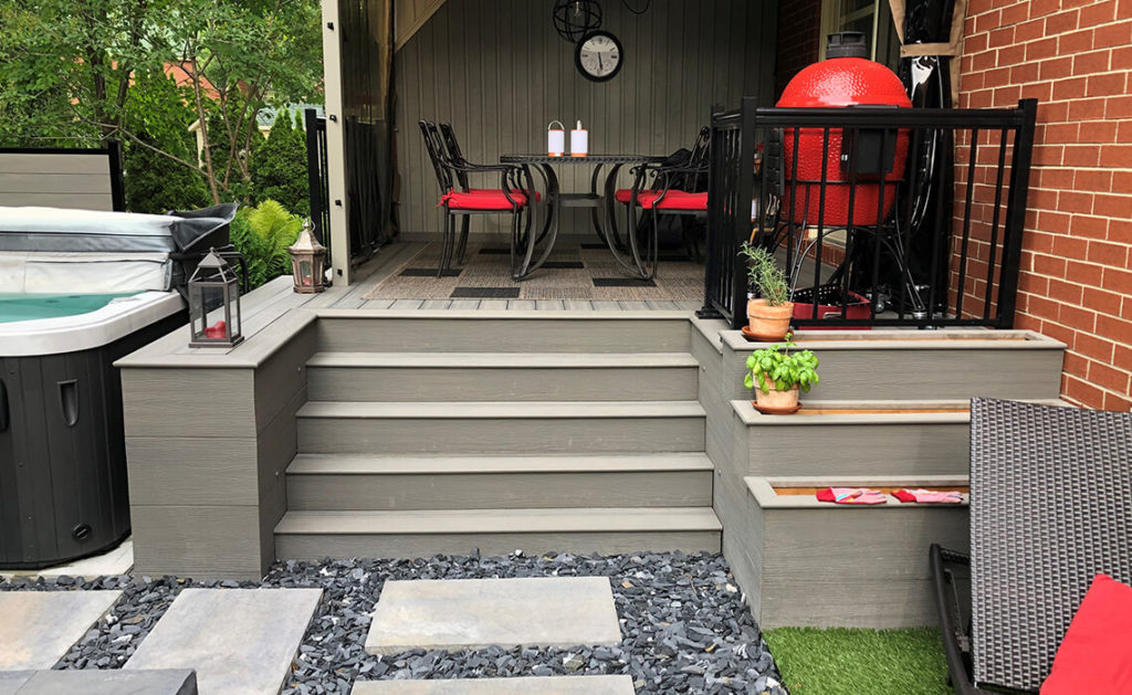 Hello Calgary! Here are Some Benefits of Composite Decking and Fencing Boards
