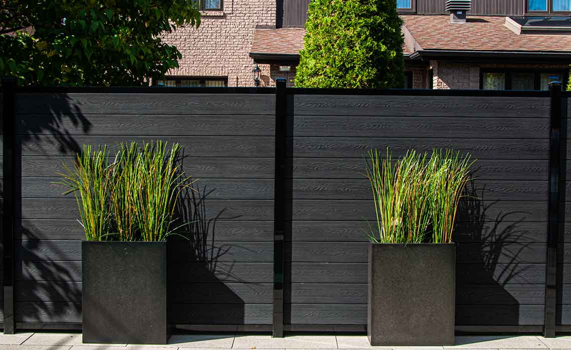 Enclose Your Yard with our strong and long lasting composite fence!