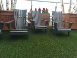 artificial grass commercial rooftop condo