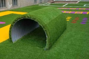 artificial grass play area kindergarten