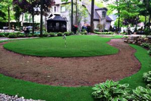 artificial grass putting green area canada