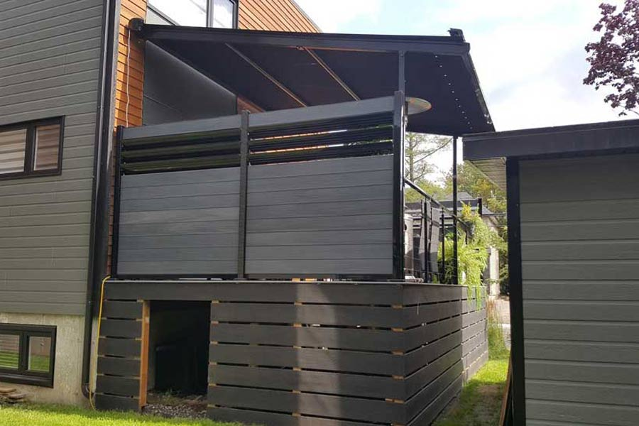 composite fencing privacy pannel decking
