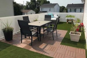 composite deck tiles inspiration