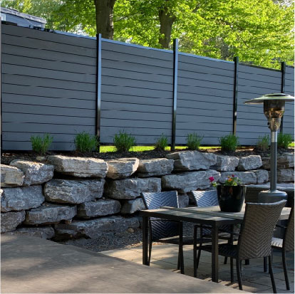 Luxurious Composite Fencing Panels