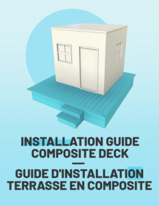 composite deck installation guide how to install a deck