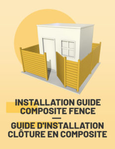 Composite fence installation guide