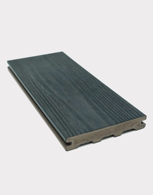 carbonised-PVC-board-dark plastic wood plank for decking