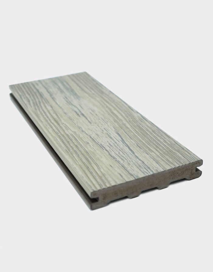 vanilla-PVC-board light colour plank plastic wood composite decking