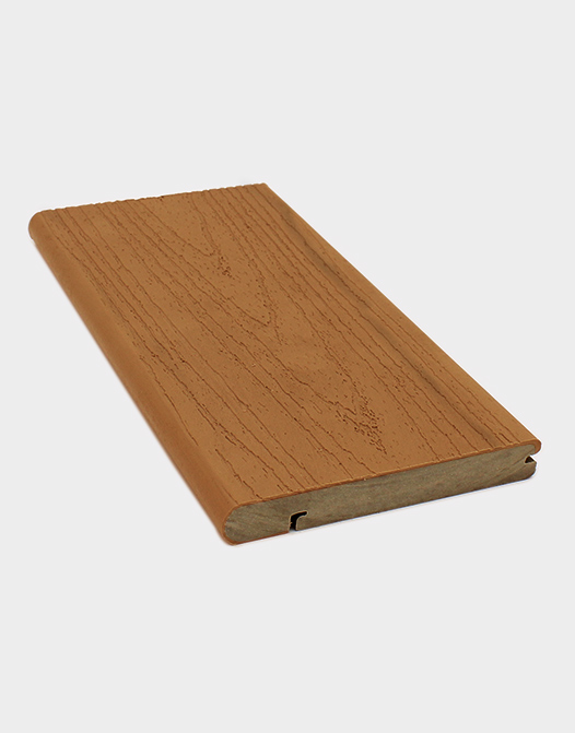 nosing board finishing board brown composite material contruction elite natural