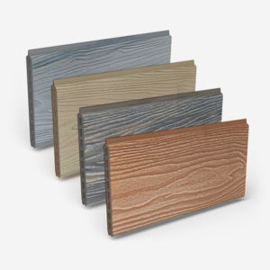 Fence boards colours choice palette