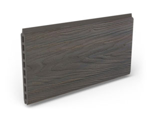 Natural dark brown boards dark borwn planks for fence project inspiration DIY outdoor space renovation increase house value garden ideas pool safety