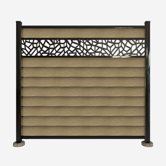 fence accessories openwork moulding fence opening