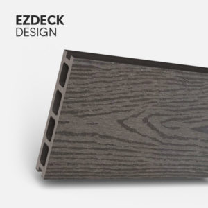 Design composite decking board colour charcoal cost effective lost cost board